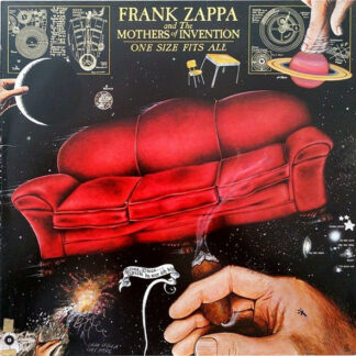 Frank Zappa And The Mothers Of Invention* - One Size Fits All (LP, Album, RP, Gat)