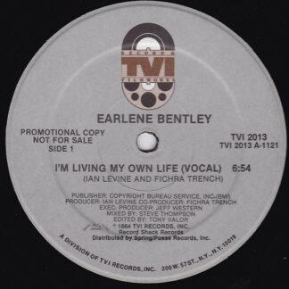 "Earlene Bentley - I'm Living My Own Life (12"", Promo)"