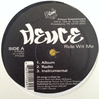 """Deuce (27) - Ride Wit Me / This Is For My... (12"""")"""