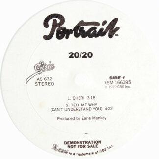 """20/20 - 20/20 (12"""", Promo)"""