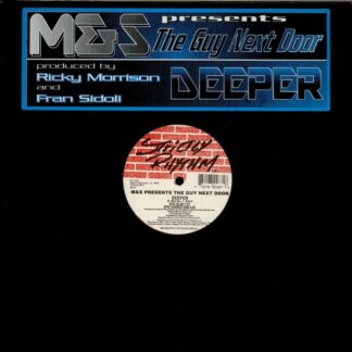 """M&S Presents The Guy Next Door - Deeper (12"""")"""
