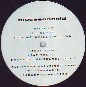 "Mosesonacid - X-Cerpt (12"")"