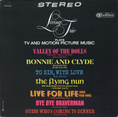 Living Trio - TV And Motion Picture Music (LP)