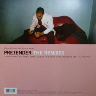 """Glissando Bros. Feat. Jimmie Wilson (2) - Pretender (The Remixes) (12"""")"""