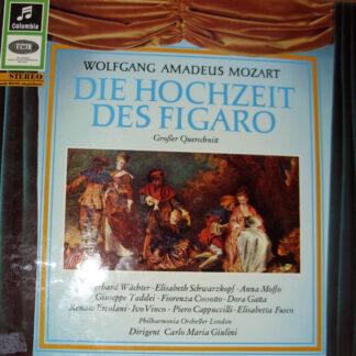 Wolfgang Amadeus Mozart - Die Hochzeit Des Figaro - Großer Querschnitt In Italienischer Sprache (LP)