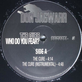 "Don Jagwarr - Who Do You Fear? (12"", Promo)"