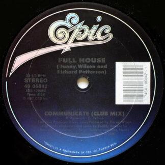 """Full House - Communicate (12"""")"""