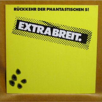 Extrabreit - Rückkehr Der Phantastischen 5! (LP, Album, Club, Yel)