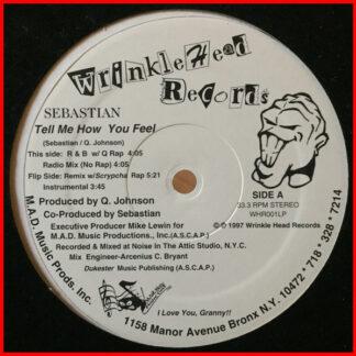 """Sebastian (76) - Tell Me How You Feel (12"""")"""
