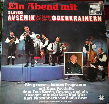 Slavko Avsenik Und Seine Original Oberkrainer - Ein Abend Mit Slavko Avsenik Und Seinen Original Oberkrainern (LP, Album, RE)