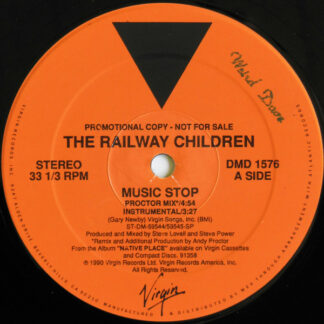 "The Railway Children - Music Stop (12"", Promo)"