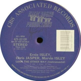 "Ernie Isley, Chris Jasper, Marvin Isley* - Look The Other Way (12"")"