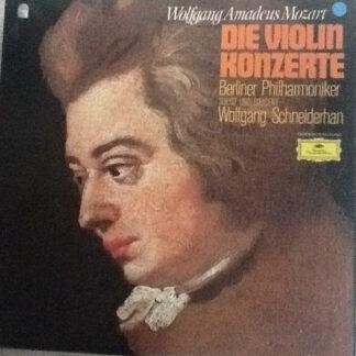 Wolfgang Amadeus Mozart, Wolfgang Schneiderhan, Berliner Philharmoniker - Die Violinkonzerte (3xLP, Club)