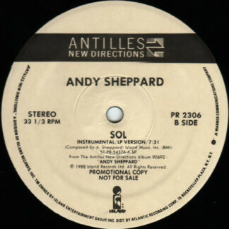"Andy Sheppard - SOL (12"", Promo)"