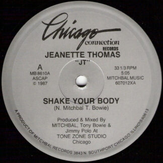 "Jeanette Thomas - Shake Your Body (12"")"