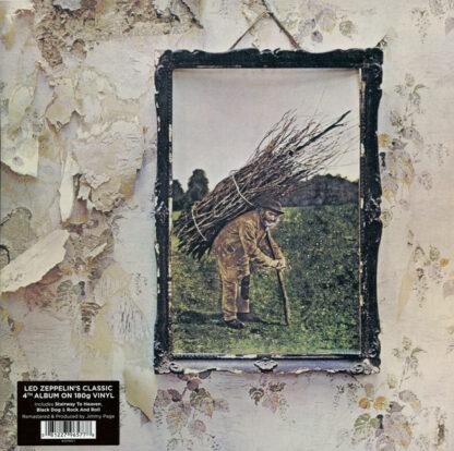 Led Zeppelin - Untitled (LP, Album, RE, RM, Gat)