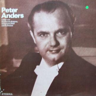 Peter Anders (2) - Lieder von Beethoven, Brahms, Schumann, Wolf Und Strauss (LP, Mono)