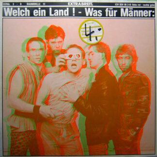 Extrabreit - Welch Ein Land! – Was Für Männer: (LP, Album, Club)