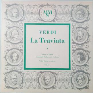 Verdi* / Nederlands Philharmonisch Orkest / Walter Goehr - La Traviata (LP)