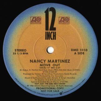 "Nancy Martinez - Move Out (12"", Promo)"