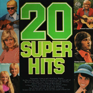 Various - Danke '80 (LP, Comp, Ltd, Num, Promo)