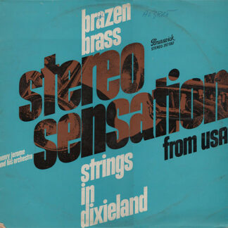 Henry Jerome And His Orchestra - Brazen Brass - Strings In Dixieland (LP)