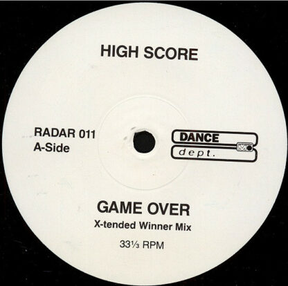 """High Score - Game Over (12"""")"""