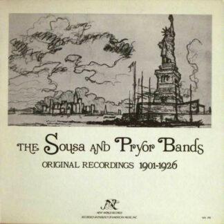 Various - The Sousa And Pryor Bands (Original Recordings 1901-1926) (LP, Comp)