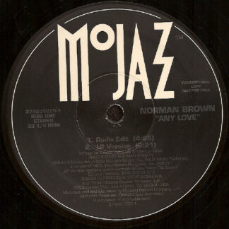 "Norman Brown - Any Love (12"", Promo)"