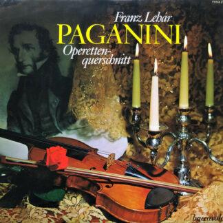 Franz Lehár - Paganini (Operettenquerschnitt) (LP)