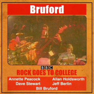 Bruford - Rock Goes To College (LP, Album, RE, Gat)