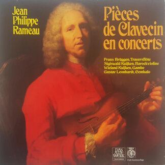 Jean-Philippe Rameau - Gustav Leonhardt - Pièces De Clavecin En Concerts (LP, Album, Club)