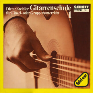 Dieter Kreidler - Gitarrenschule 1 (LP)