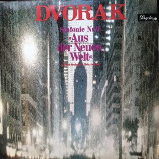 """Dvorak*, Europa-Orchester* - Hein Jordans - Sinfonie Nr.9 """"Aus Der Neuen Welt"""" (LP)"""