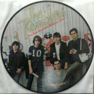 The Ramblers* - The Kids Are Back To Rock'n'Roll (LP, Album, Pic, RE)