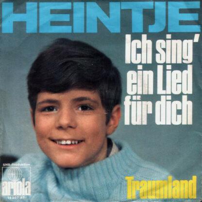 """Heintje - Ich Sing' Ein Lied Für Dich (7"""", Single)"""