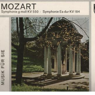 """W.A. Mozart* - Concertgebouw-Orchester Amsterdam*, Karl Böhm - Symphonie G-moll KV 550 / Symphonie Es-dur KV 184 (10"""", Album, Mono)"""