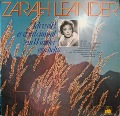 Zarah Leander - Ich Weiß, Es Wird Einmal Ein Wunder Geschehn (2xLP, Comp, Club, Gat)