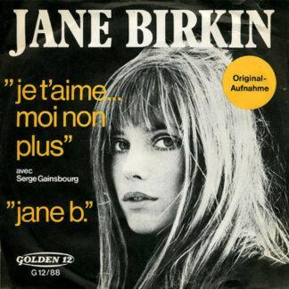 "Jane Birkin Avec Serge Gainsbourg - Je T'aime... Moi Non Plus / Jane B. (7"", Single)"