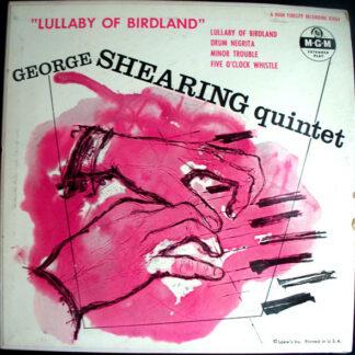 """George Shearing Quintet* - Lullaby Of Birdland (7"""", EP)"""