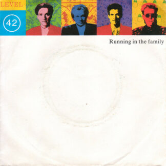"Level 42 - Running In The Family (7"", Single, Sil)"