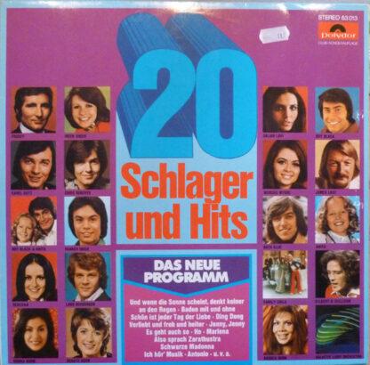 Various - 20 Schlager Und Hits (LP, Comp, Club)
