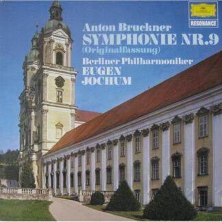 Anton Bruckner - Eugen Jochum / Berliner Philharmoniker - Symphonie Nr. 9 (Originalfassung) (LP, RE)