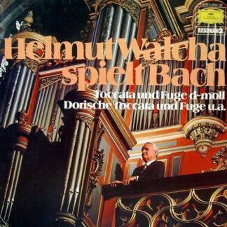 Johann Sebastian Bach - Helmut Walcha - Helmut Walcha Spielt Bach / Toccata Und Fuge D-moll, Dorische Toccata Und Fuge U.a. (LP, RE)