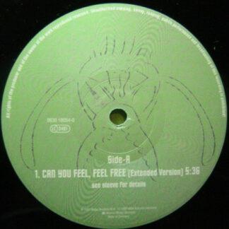 """Sixdia Nova - Can You Feel, Feel Free (12"""")"""
