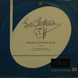 Franz Konwitschny, Ludwig van Beethoven - Sinfonie Nr. 6 F-Dur Op. 68 (LP, Album)