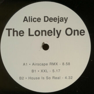 """Alice Deejay - The Lonely One (2x12"""")"""