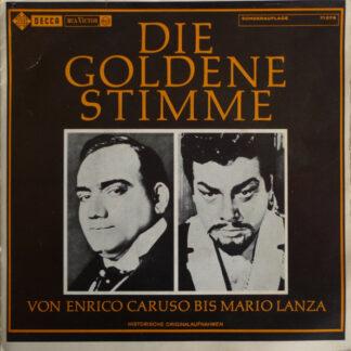 "Various - Die Goldene Stimme (Von Enrico Caruso Bis Mario Lanza) (7"", Mono, Club, Promo, Smplr, S/Edition)"