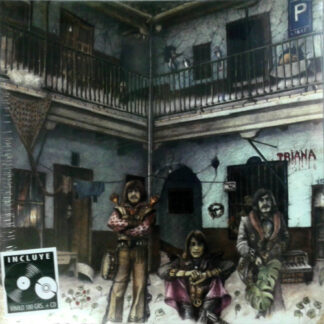 Triana (2) - El Patio (Gat + LP, Album, RE, RM + CD, Album, RE, RM)