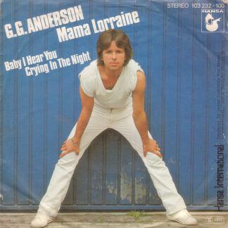 "G.G. Anderson - Mama Lorraine (7"", Single)"
